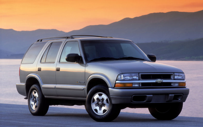 2000 chevy blazer owners manual