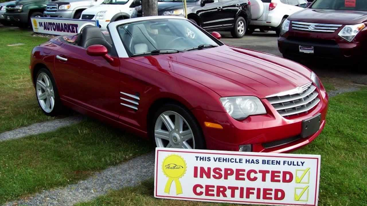 2005 chrysler crossfire convertible owners manual