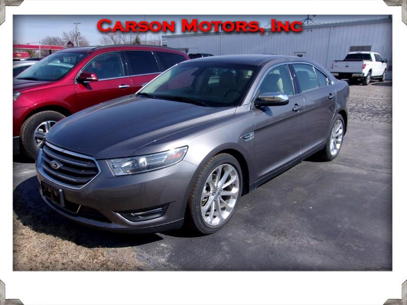 2014 ford taurus limited owners manual
