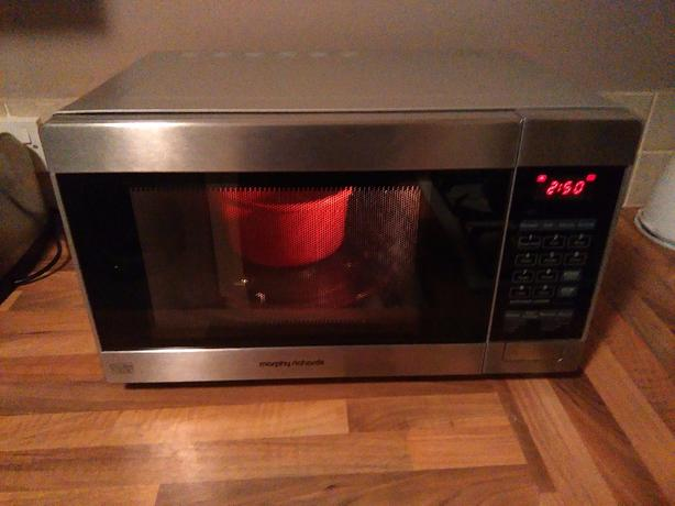 morphy richards microwave oven user manual