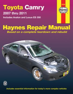 2007 toyota camry owners manual