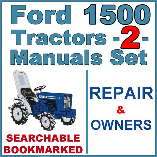 ford 1500 tractor service manual