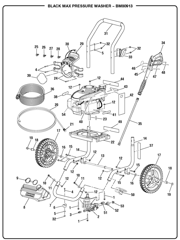 ridgid power washer 3000 psi 2.6 gpm owners manual